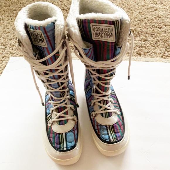 NEW COACH   Winter Rain Snow Boots 8